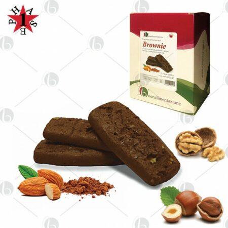 Brownie Proteico al Cacao Fase 1 - Box 10 x 35g