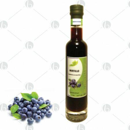 Condimento con mosto d' uva al Mirtillo