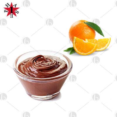 Crema proteica cioccolata fondente e arancia