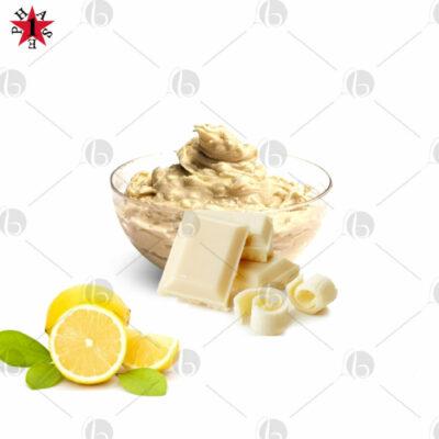 crema proteica cioccolato bianco limone